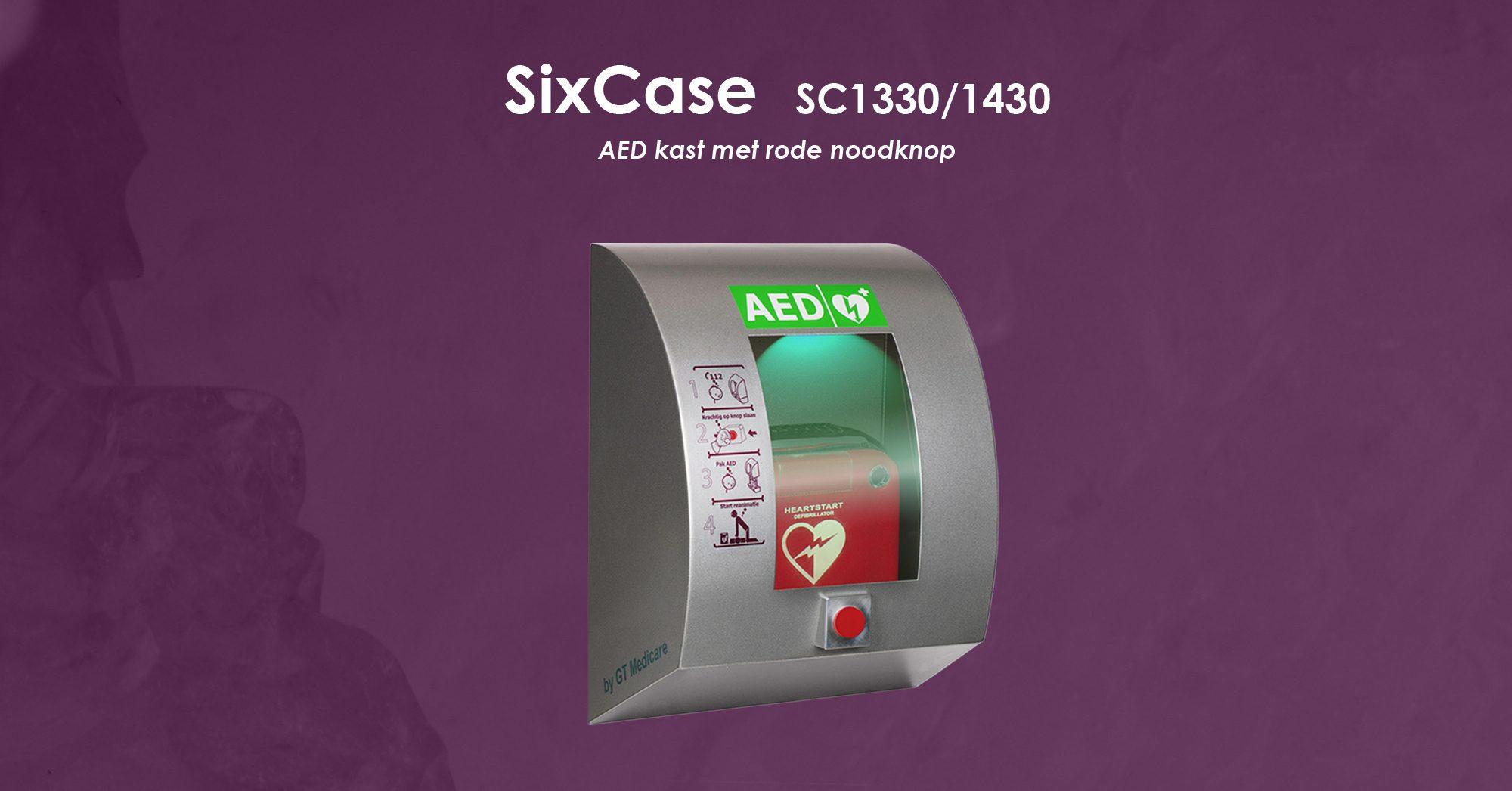 Sc13301430 Aed Kast Met Rode Noodknop